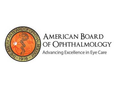 image of logo for the american board of ophthalmology