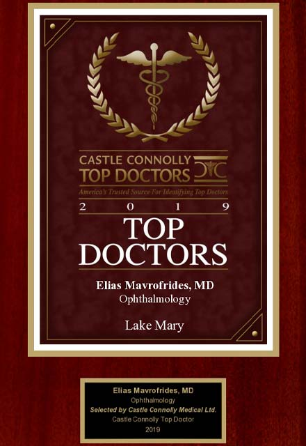 image of 2019 top doctors award, castle connolly