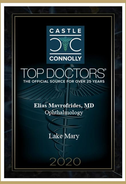 image of 2020 top doctors award, castle connolly