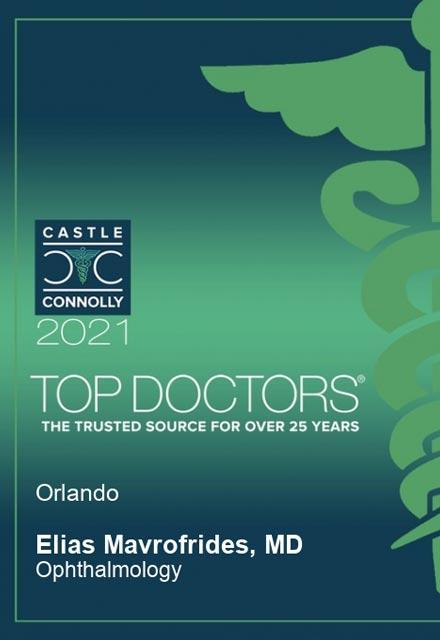 2021 top doctors award, castle connolly