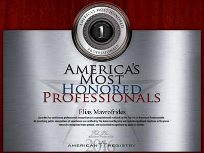 americas most honored professionals 2016