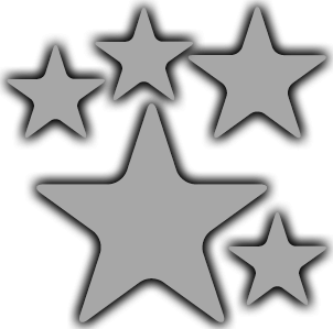 image of 5 stars, caring for patients since 1979