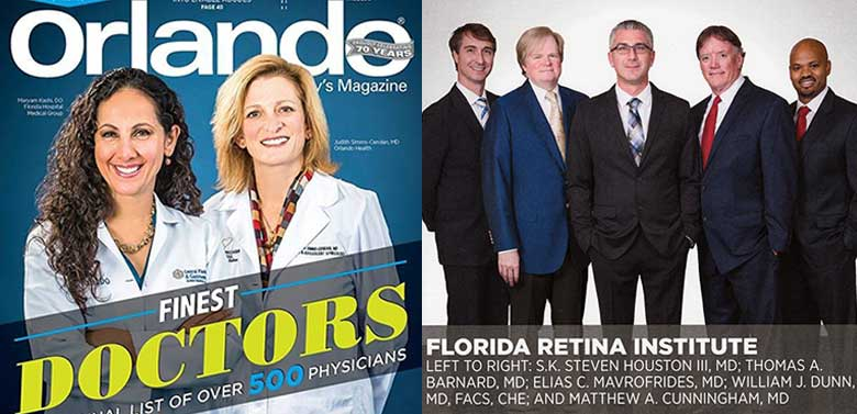 image of orlando magazine, finest doctors