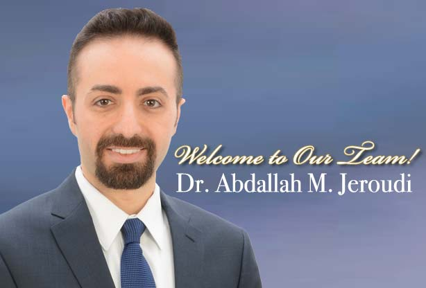 welcome doctor abdallah jeroudi, starting  august in north florida