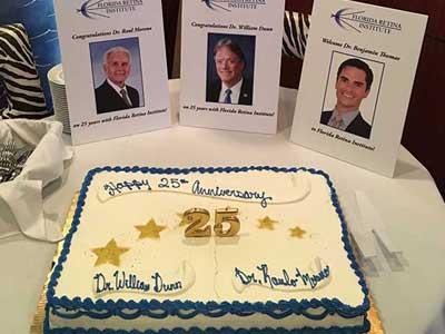 cake, 25 year anniversary