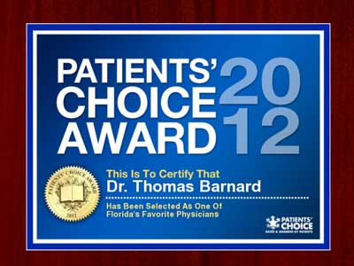 2012 patients choice award