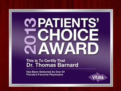 patients choice award, 2013