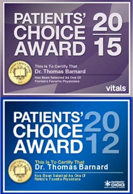patients choice award, dr barnard