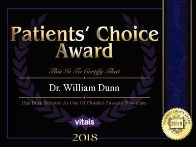 patients choice award, 2018